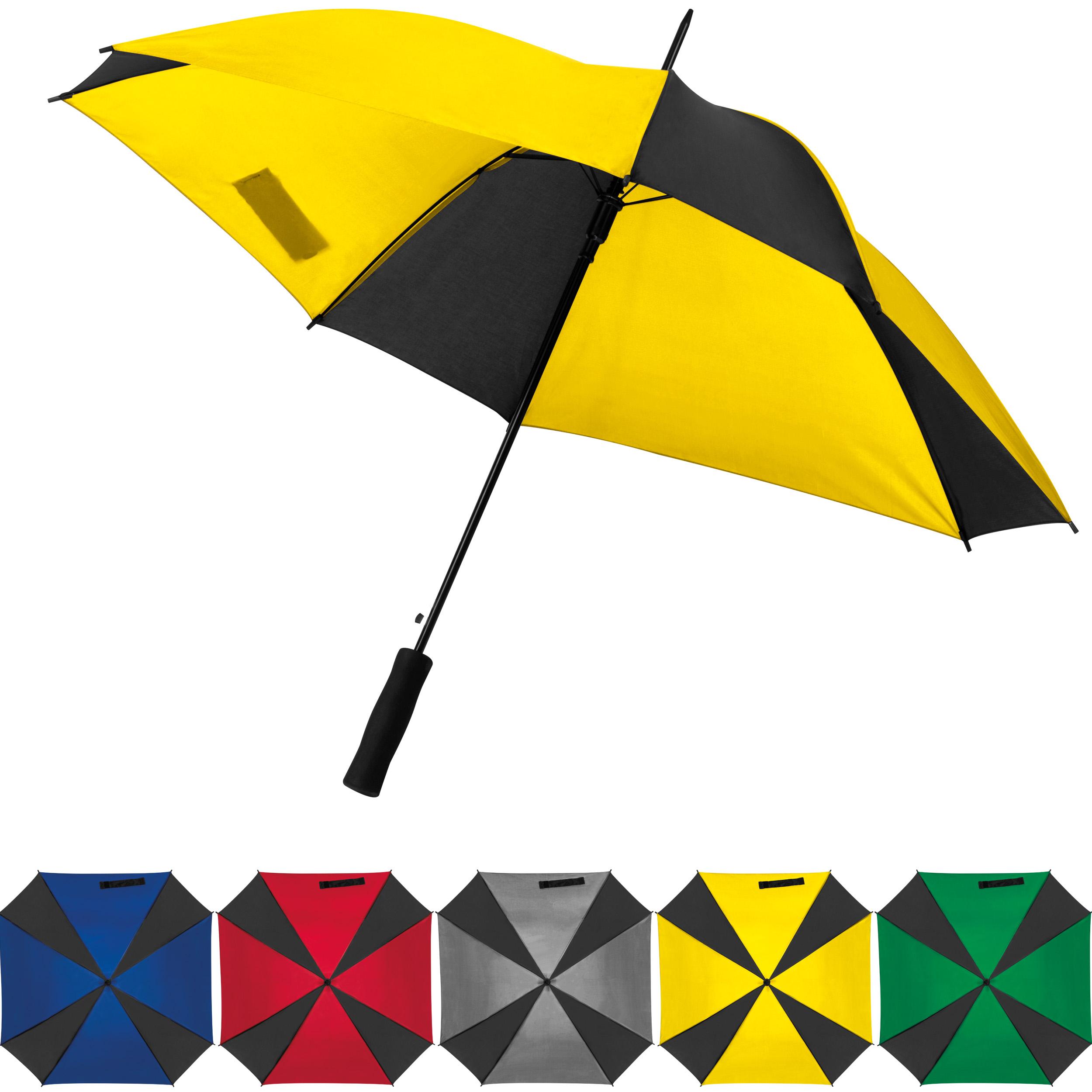 Parapluie avec différents segments