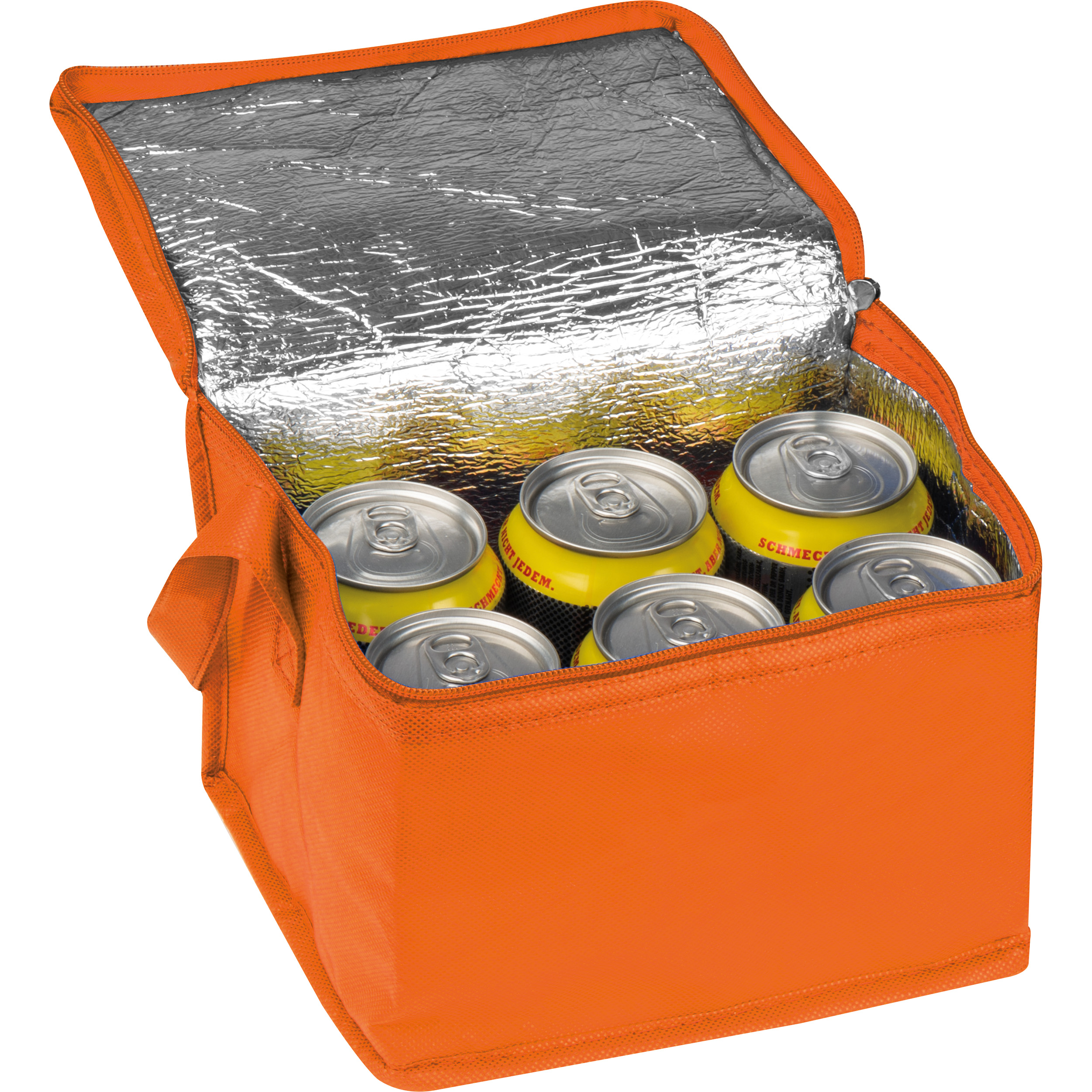 Non-woven cooling bag - 6 cans