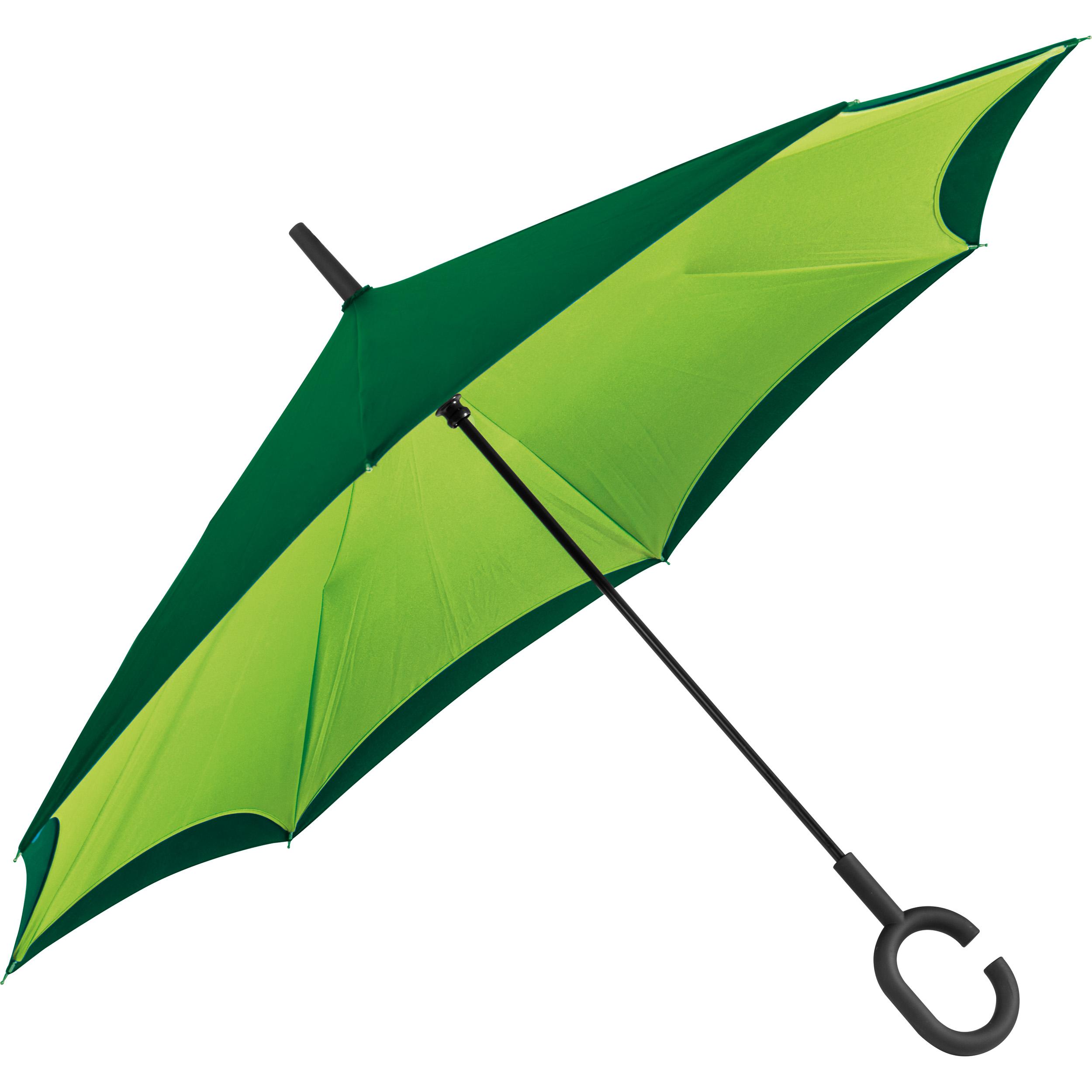 Reverse umbrella - double layer - 190T pongee