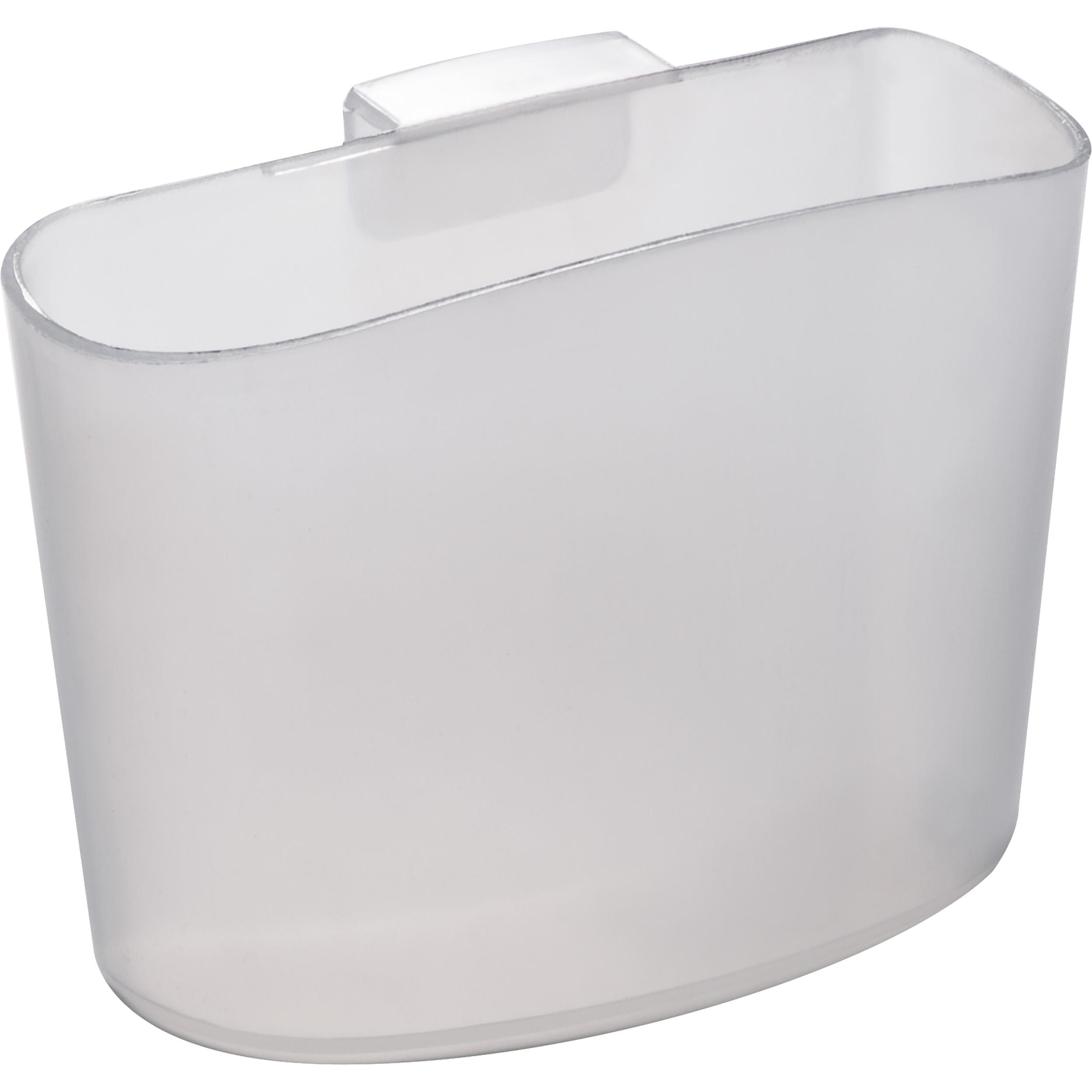 Tea bag holder, transparently frosted