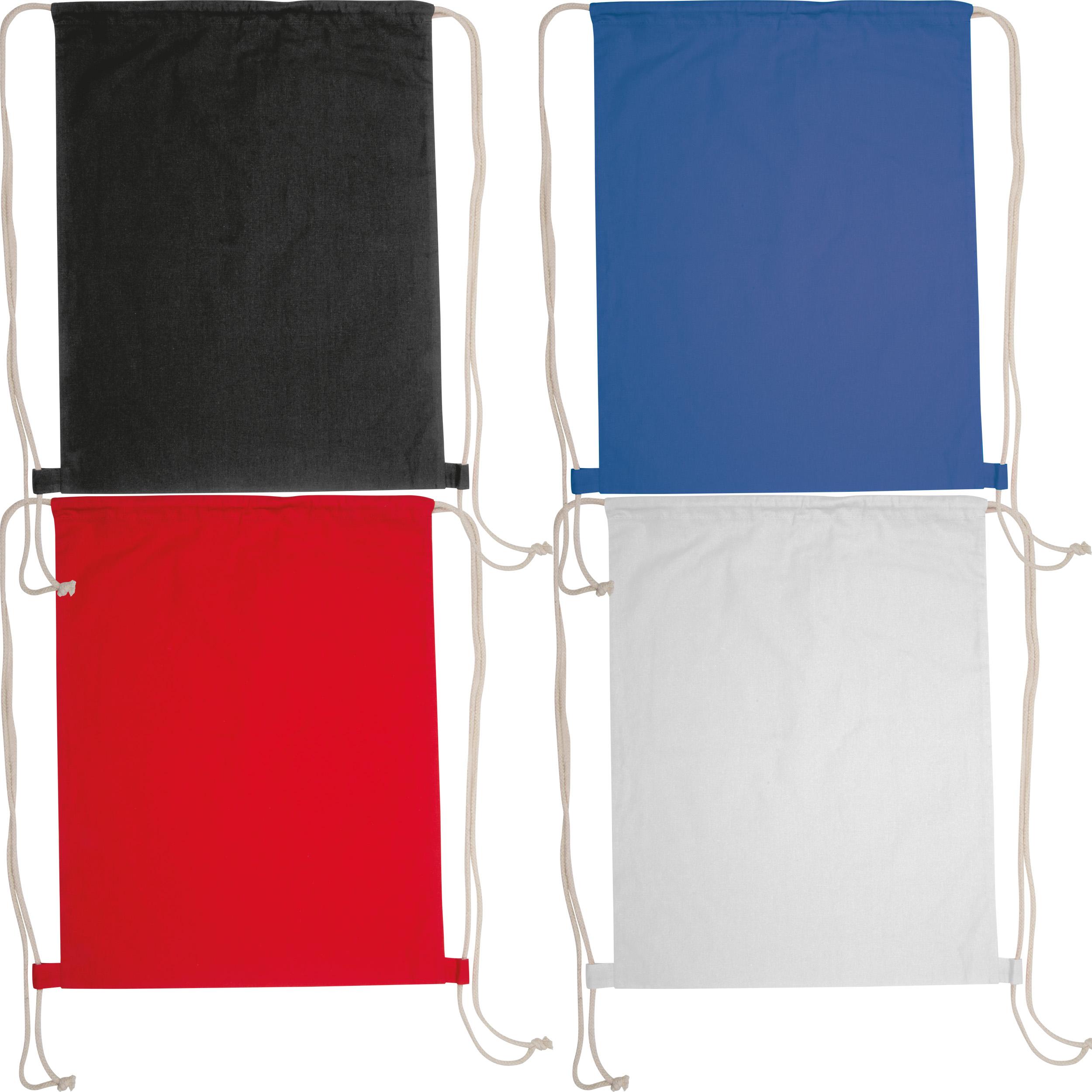 Oeko-Tex® STANDARD 100 zertifizierter Gymbag aus umweltfreundlicher Baumwolle ( 140g/m )