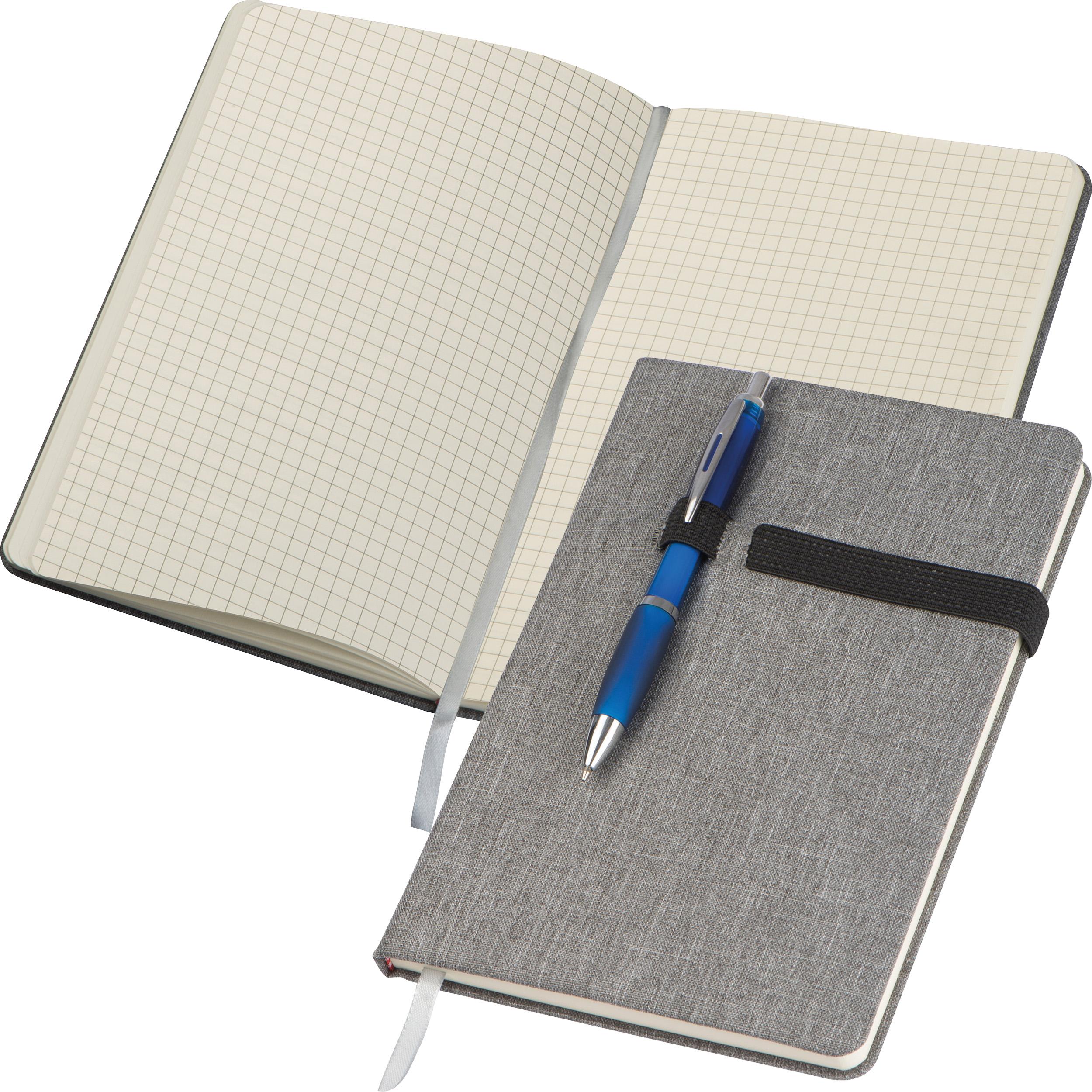 Carnet avec passant pour stylo DIN A5