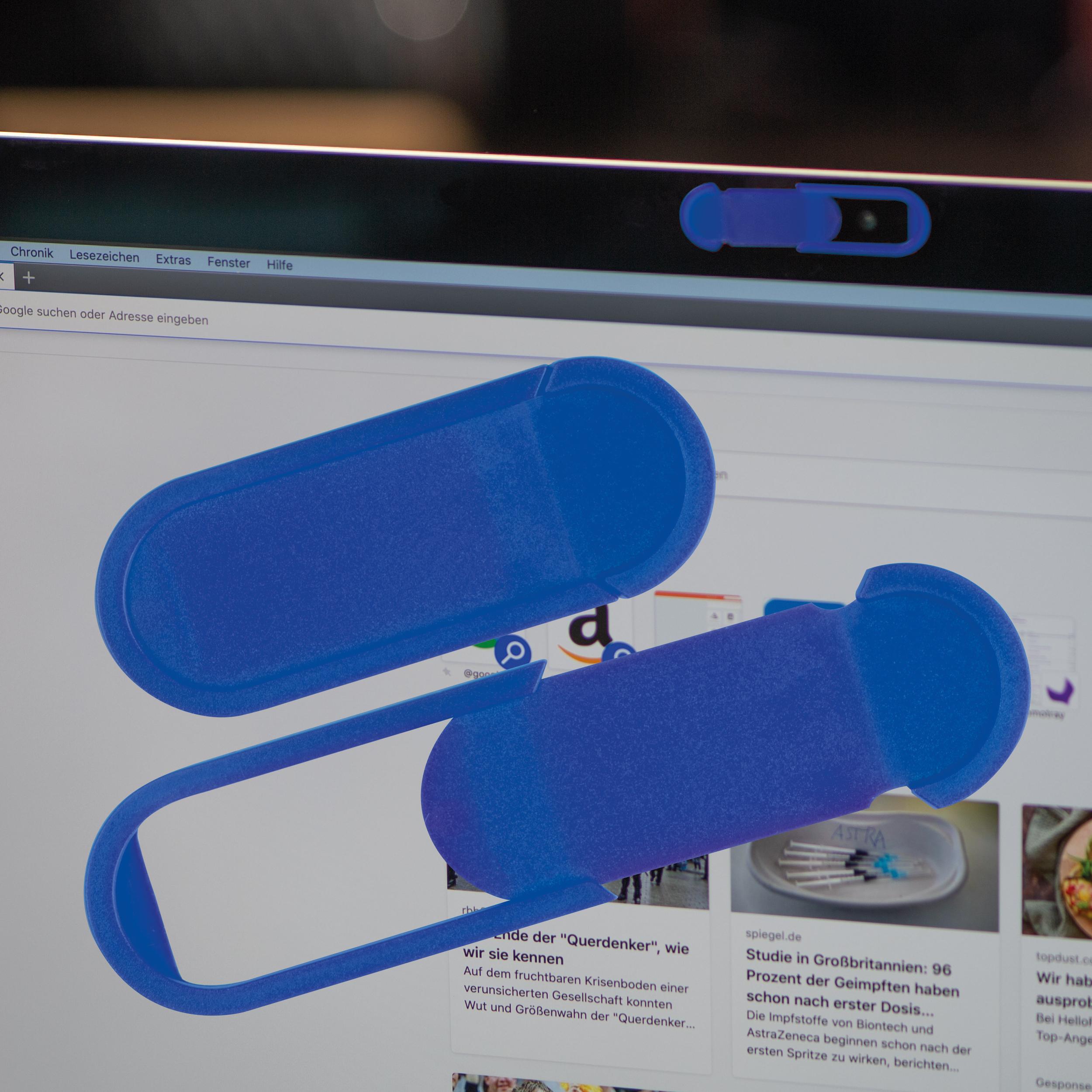 Laptop webcam-cover