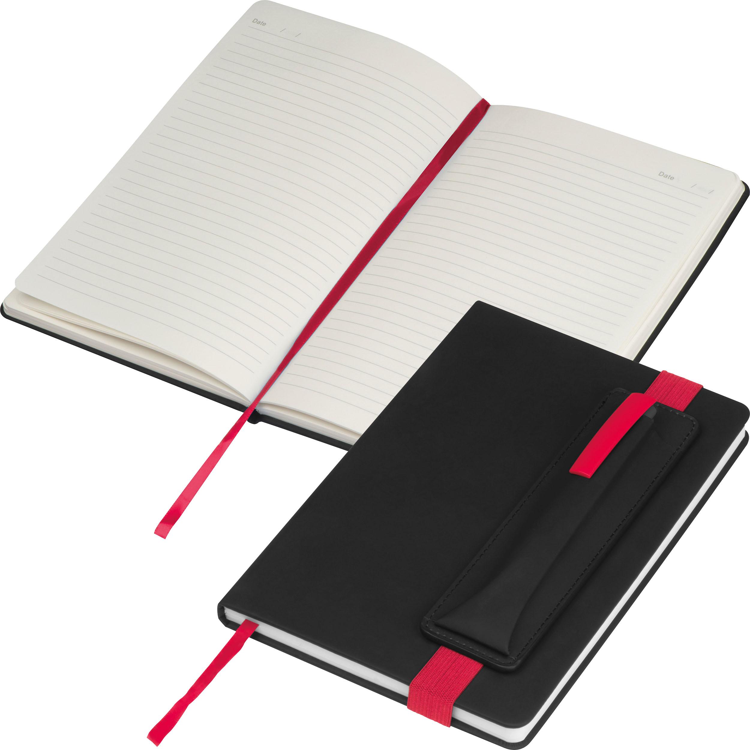 Carnet de notes avec des applications en couleur