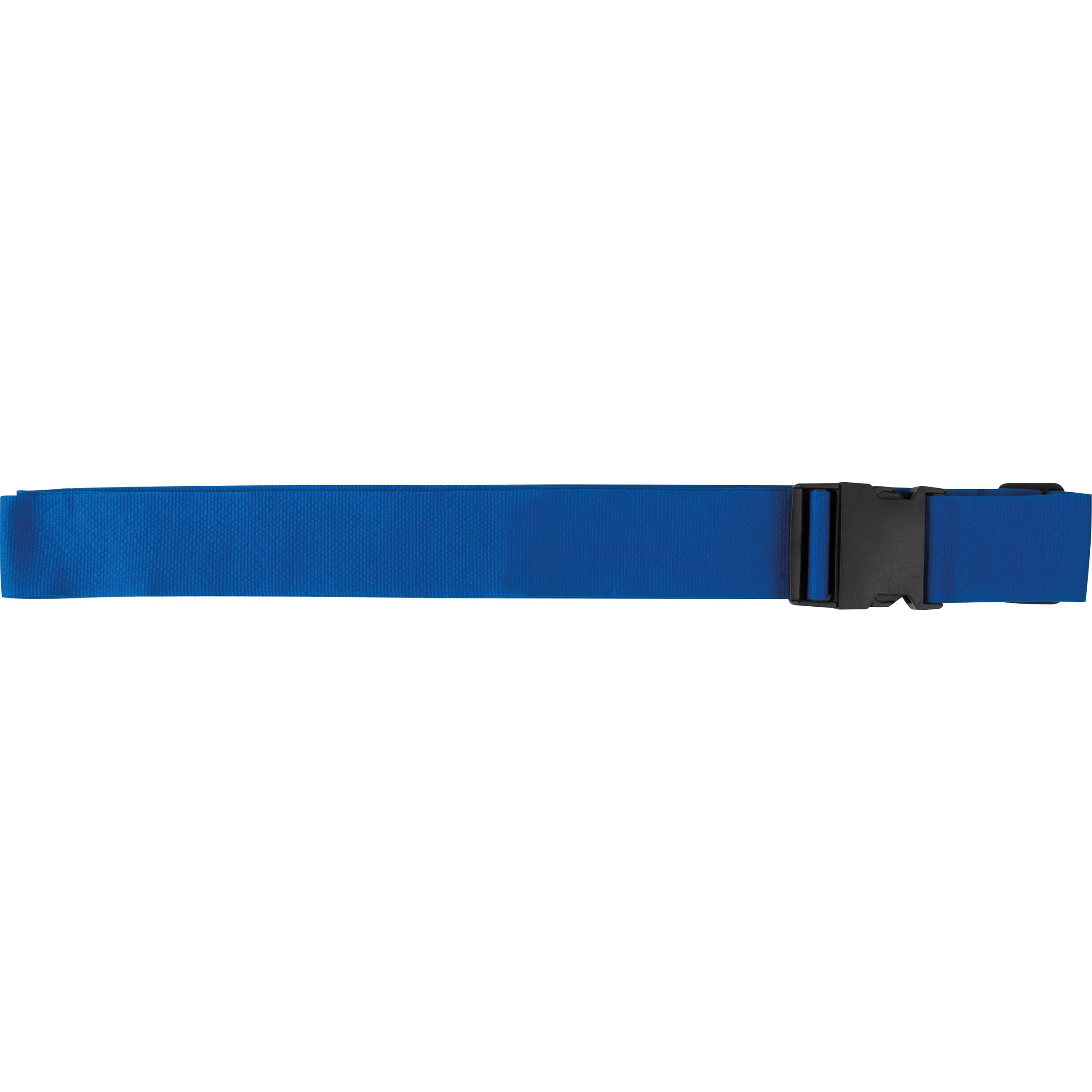 Bracelet réglable en polyester pour valise
