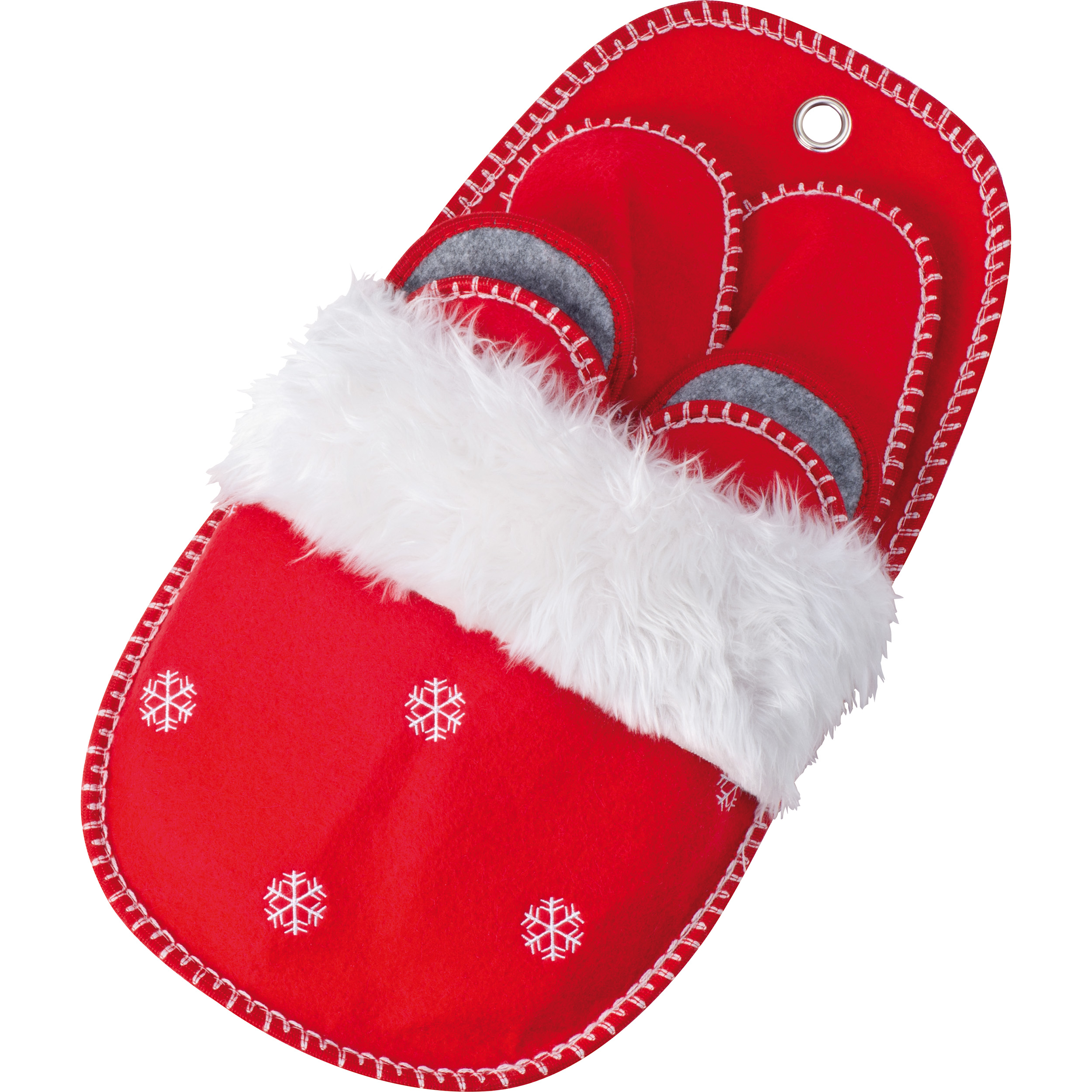 Weihnachtspantoffeln