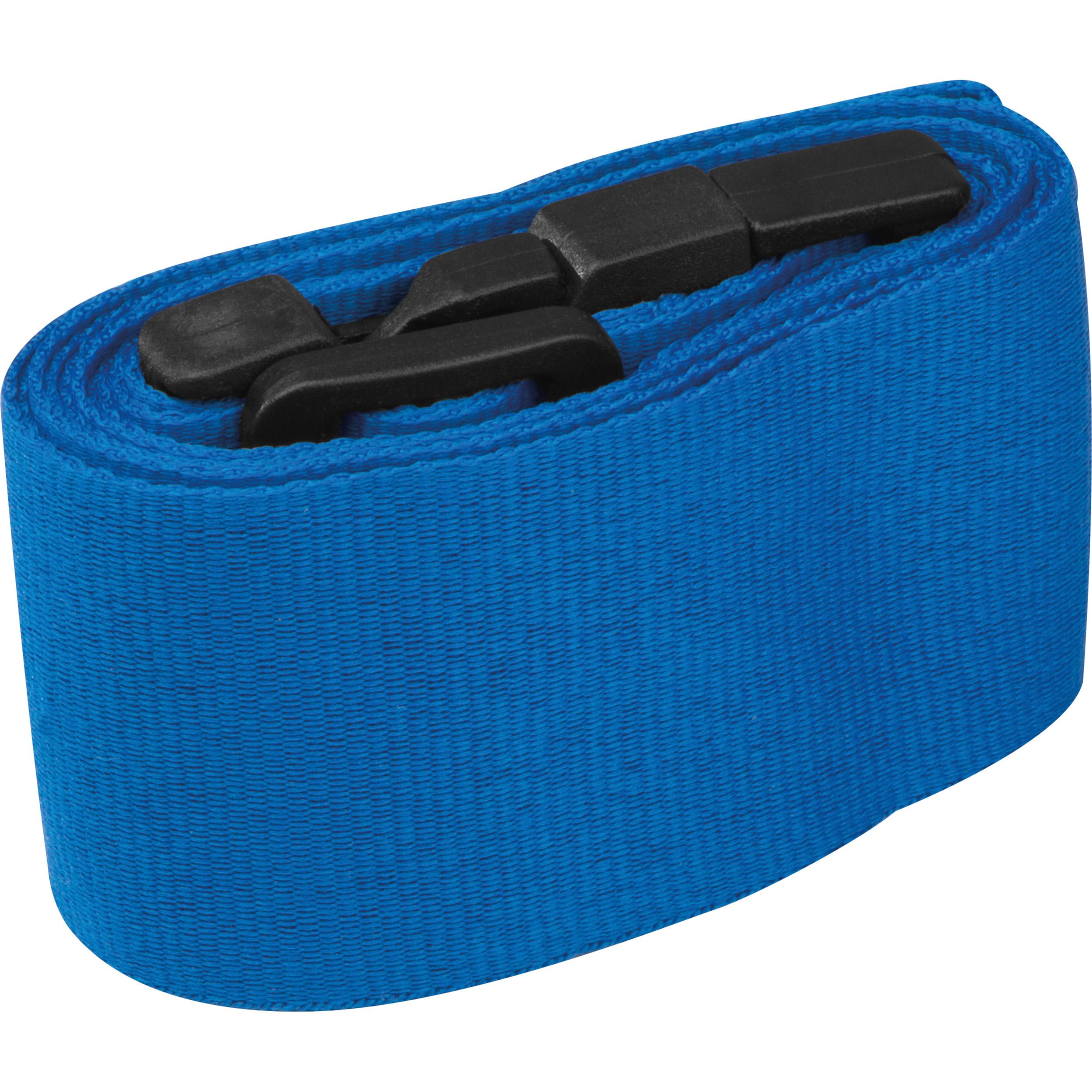 Adjustable luggage strap