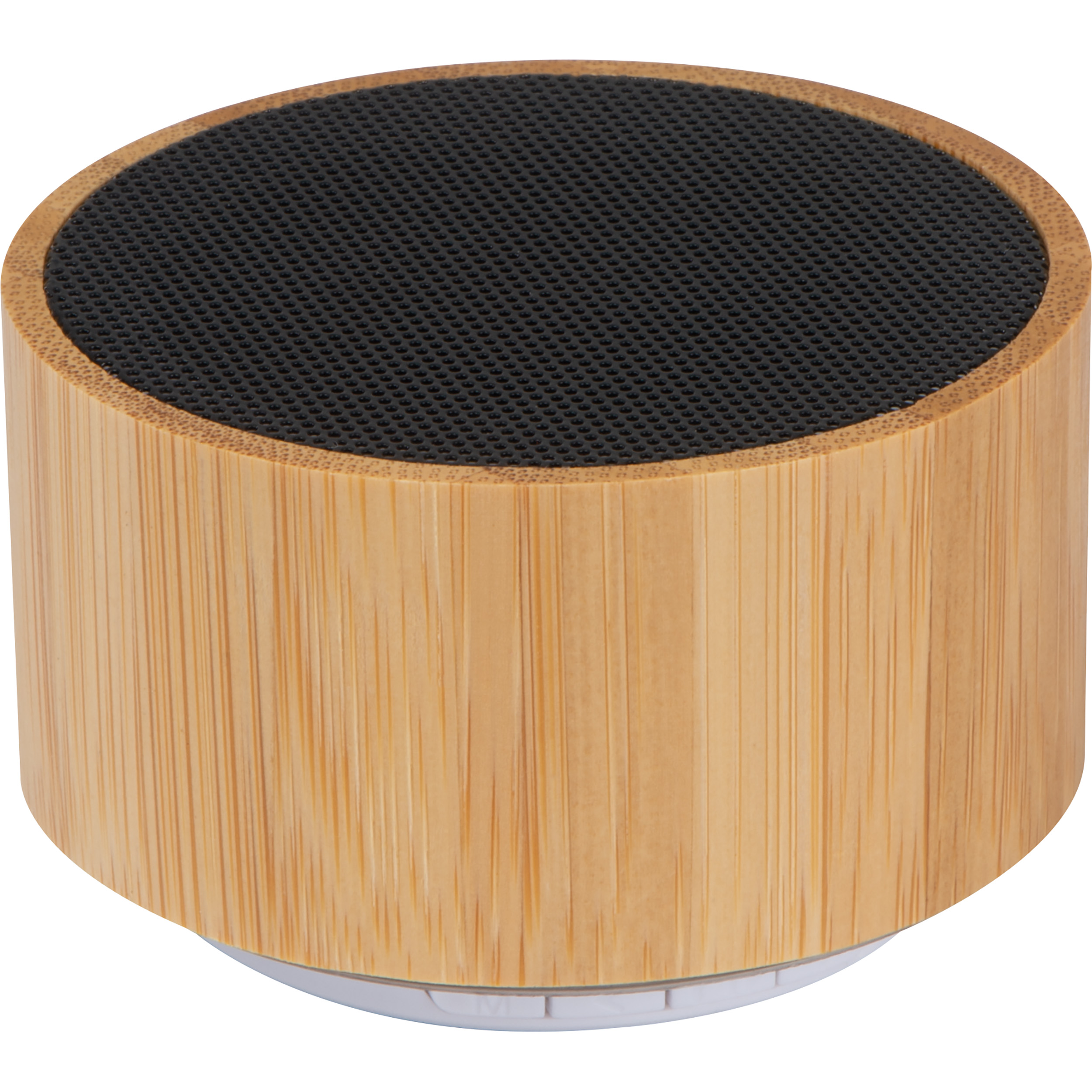 Bluetooth speaker with bamboo coating