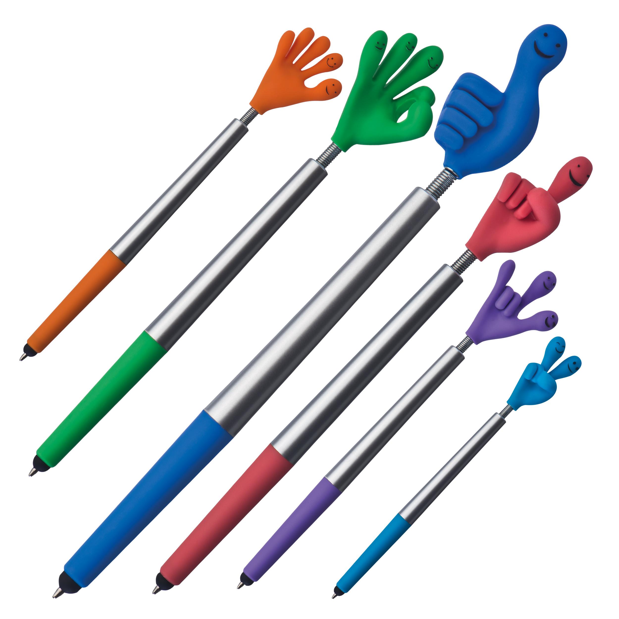 Smile hand ball pen