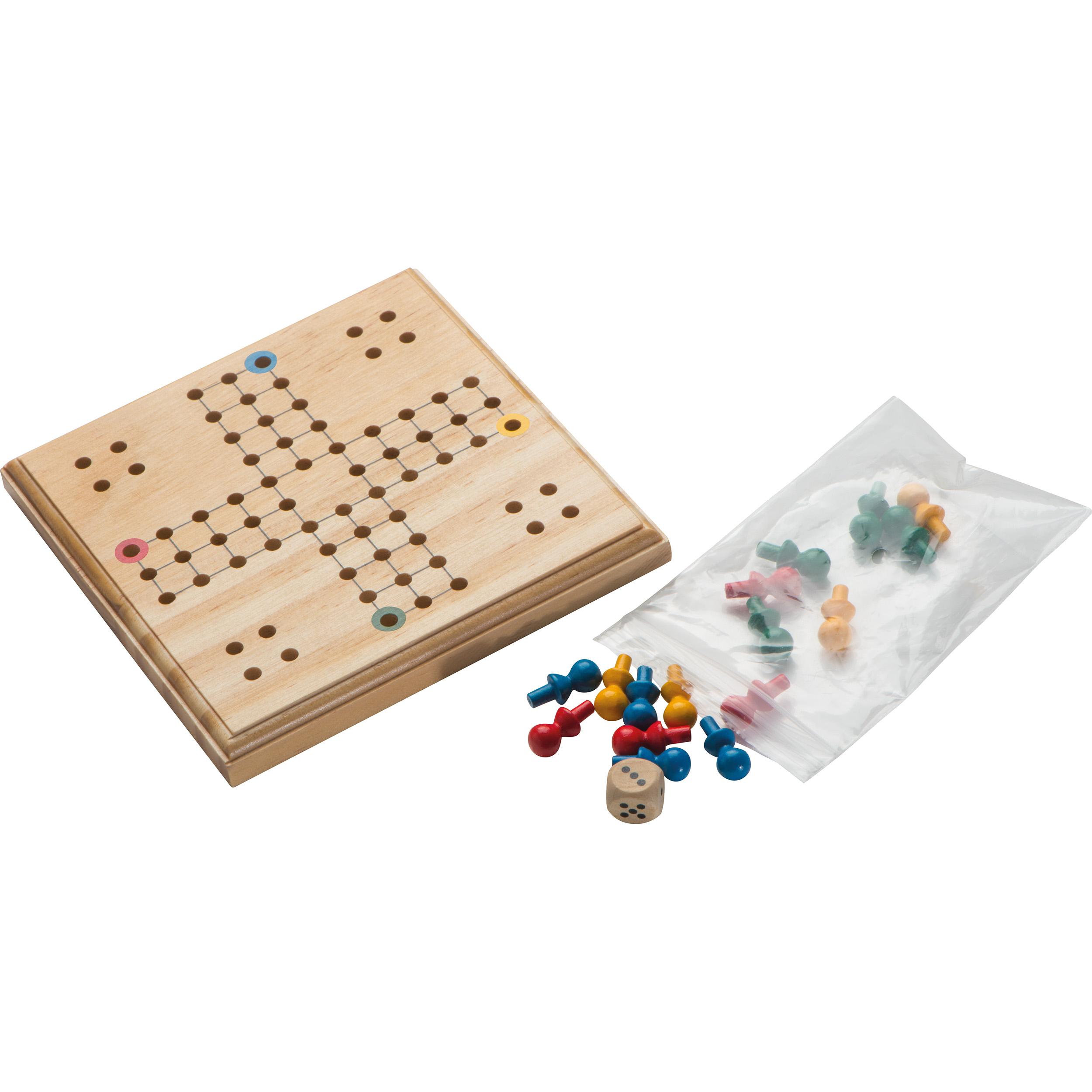 LUDO Spiel aus Holz