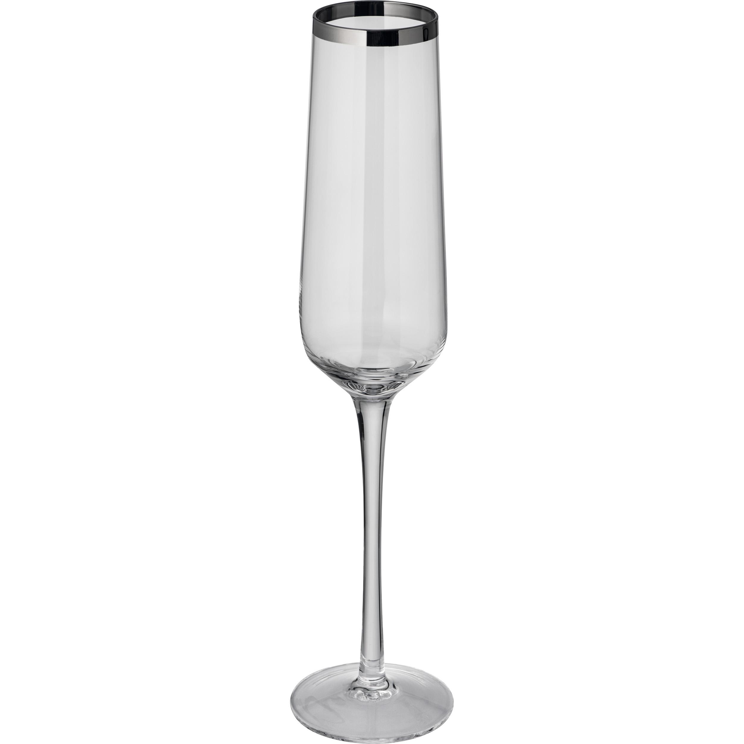 Set de 6 verres à champagne
