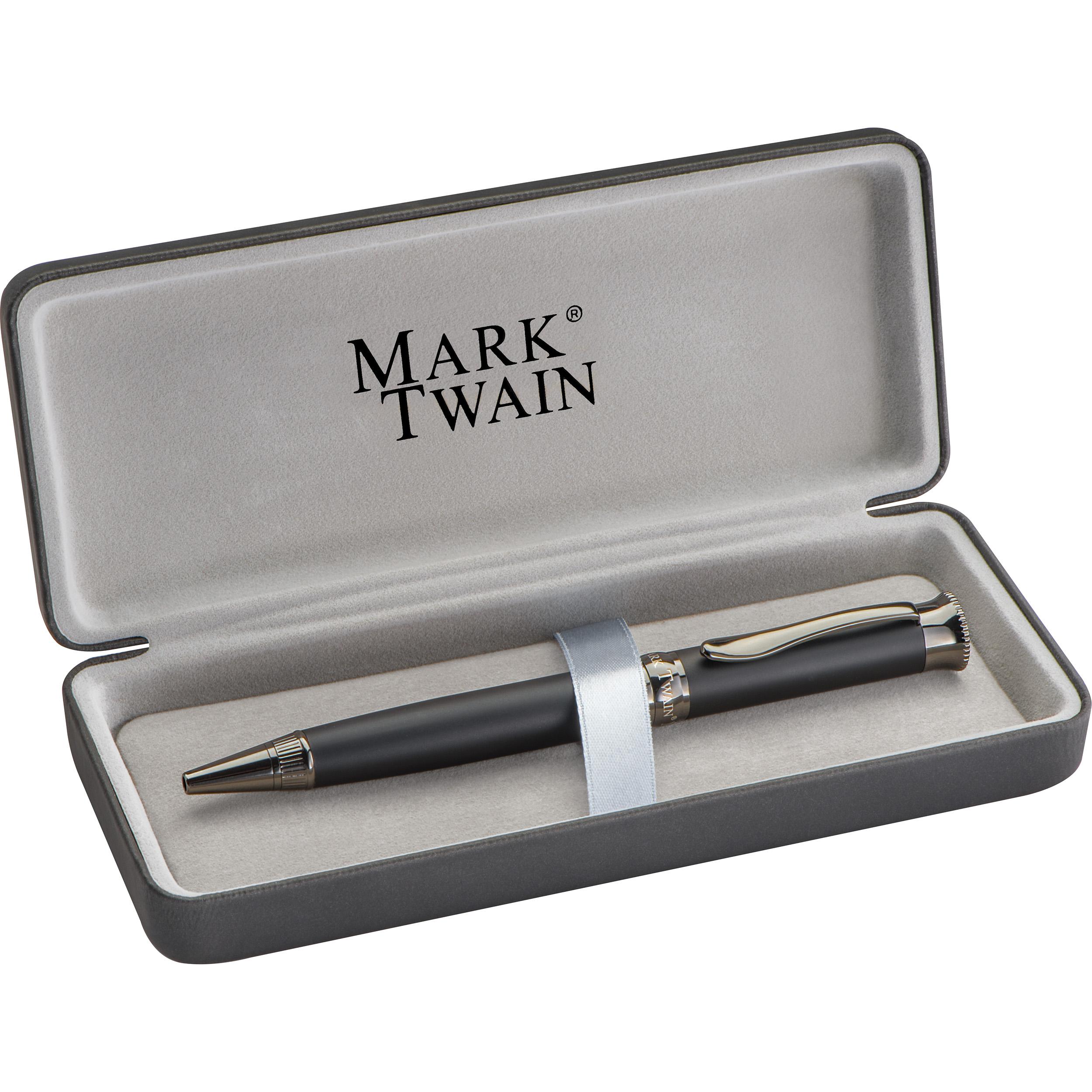 Mark Twain Kugelschreiber aus Metall