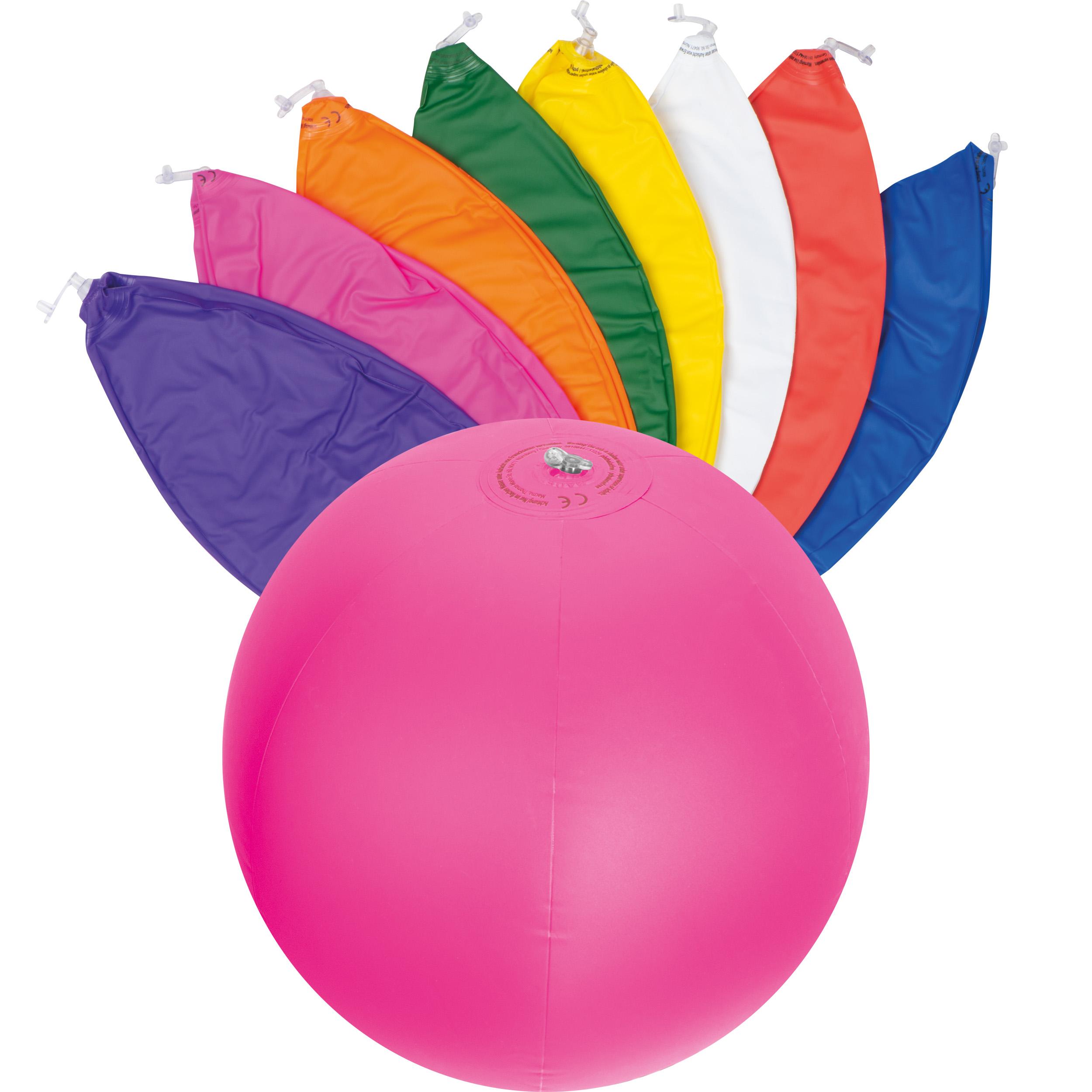 Monocolour beach ball