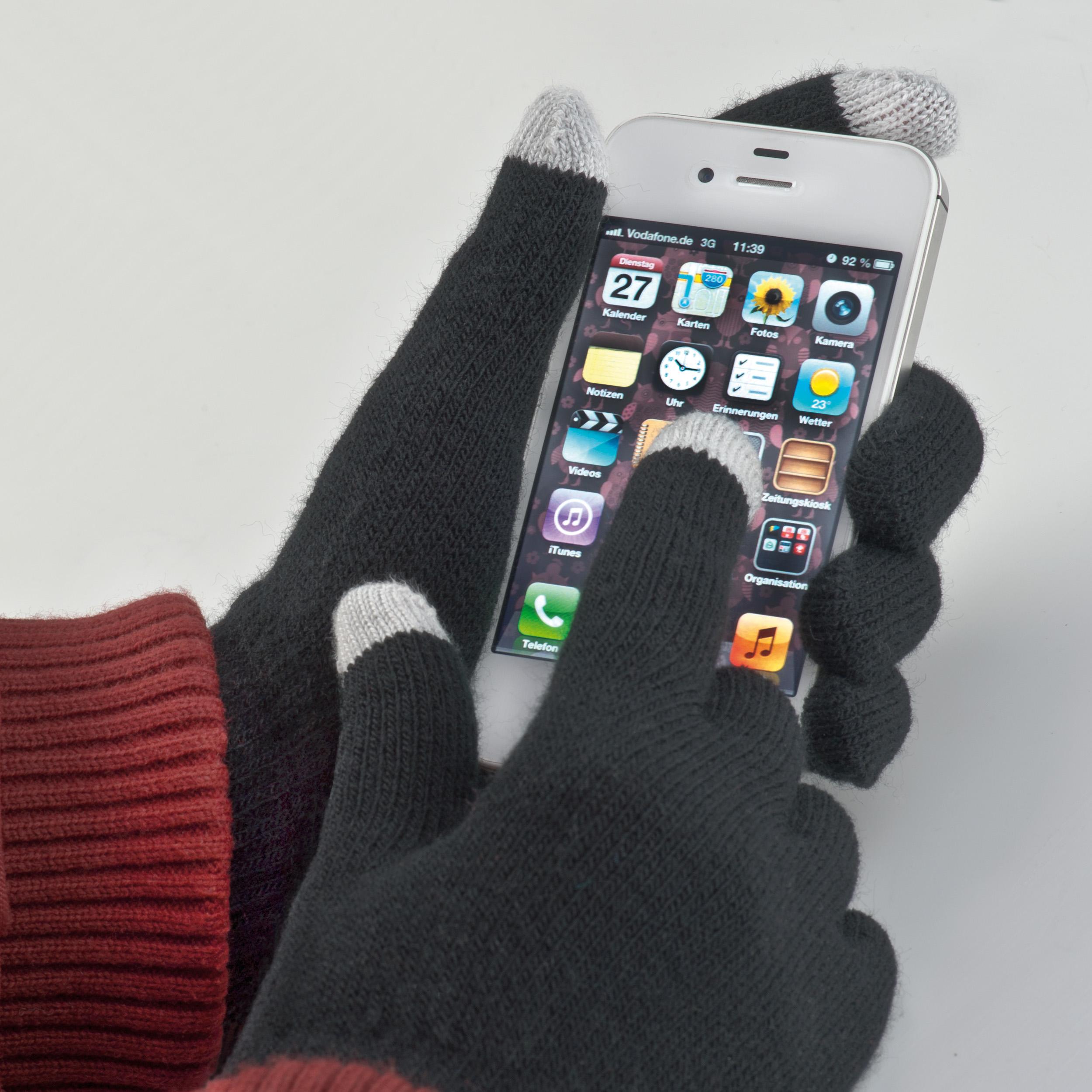 Gants synthétiques avec 2 doigts fonction PDA