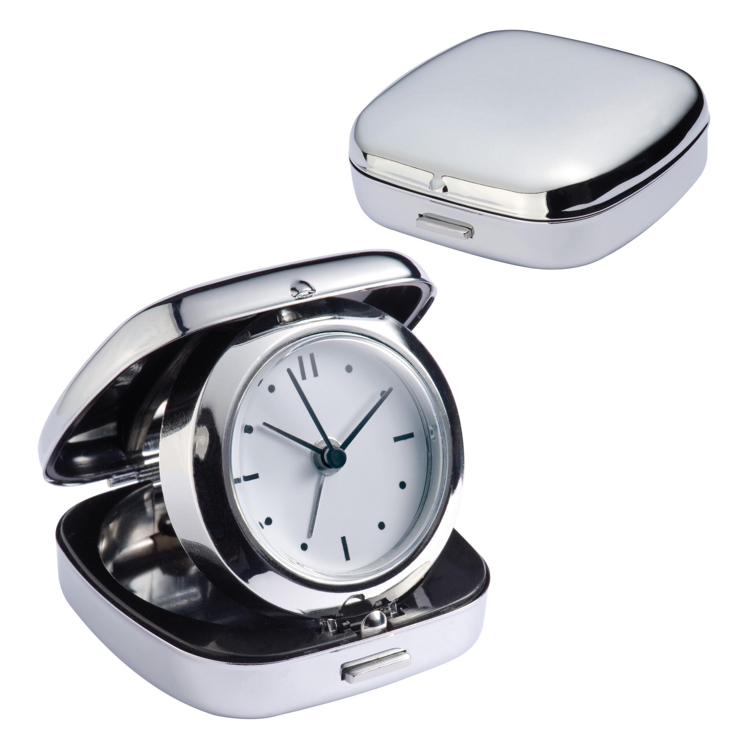 Quartz travel clock