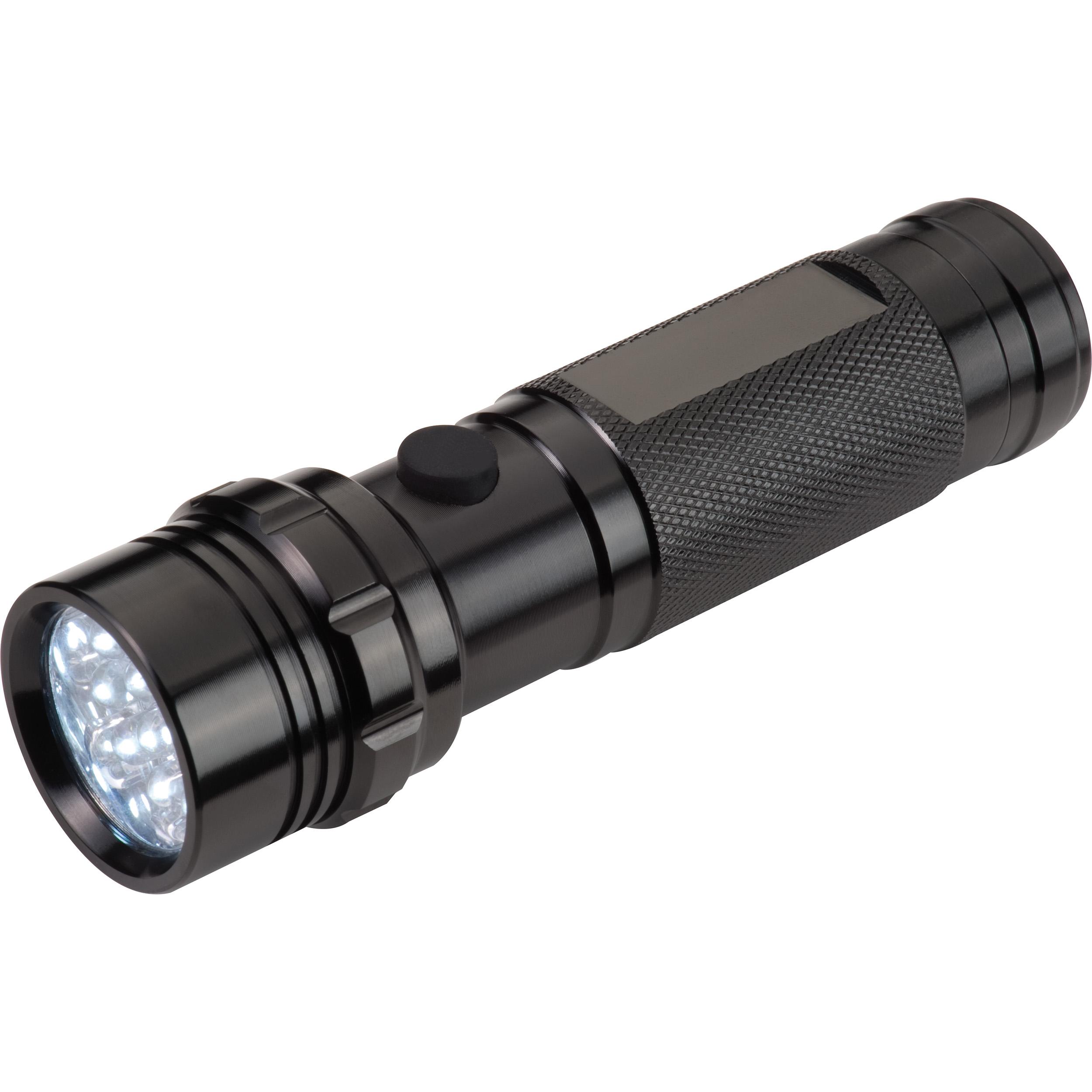 Lampe torche 14 LEDs dans un écrin cadeau
