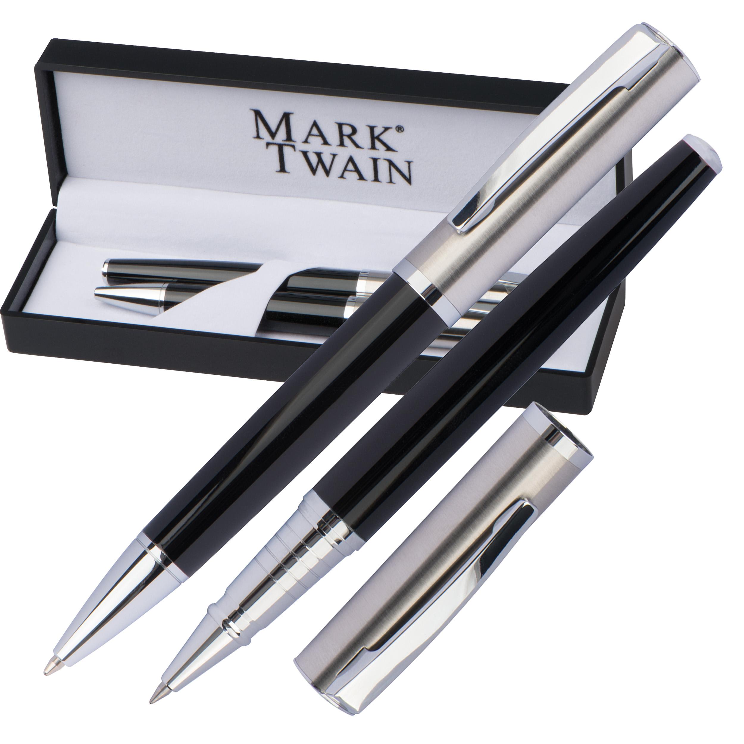 Set d'écriture rollerball et stylo bille