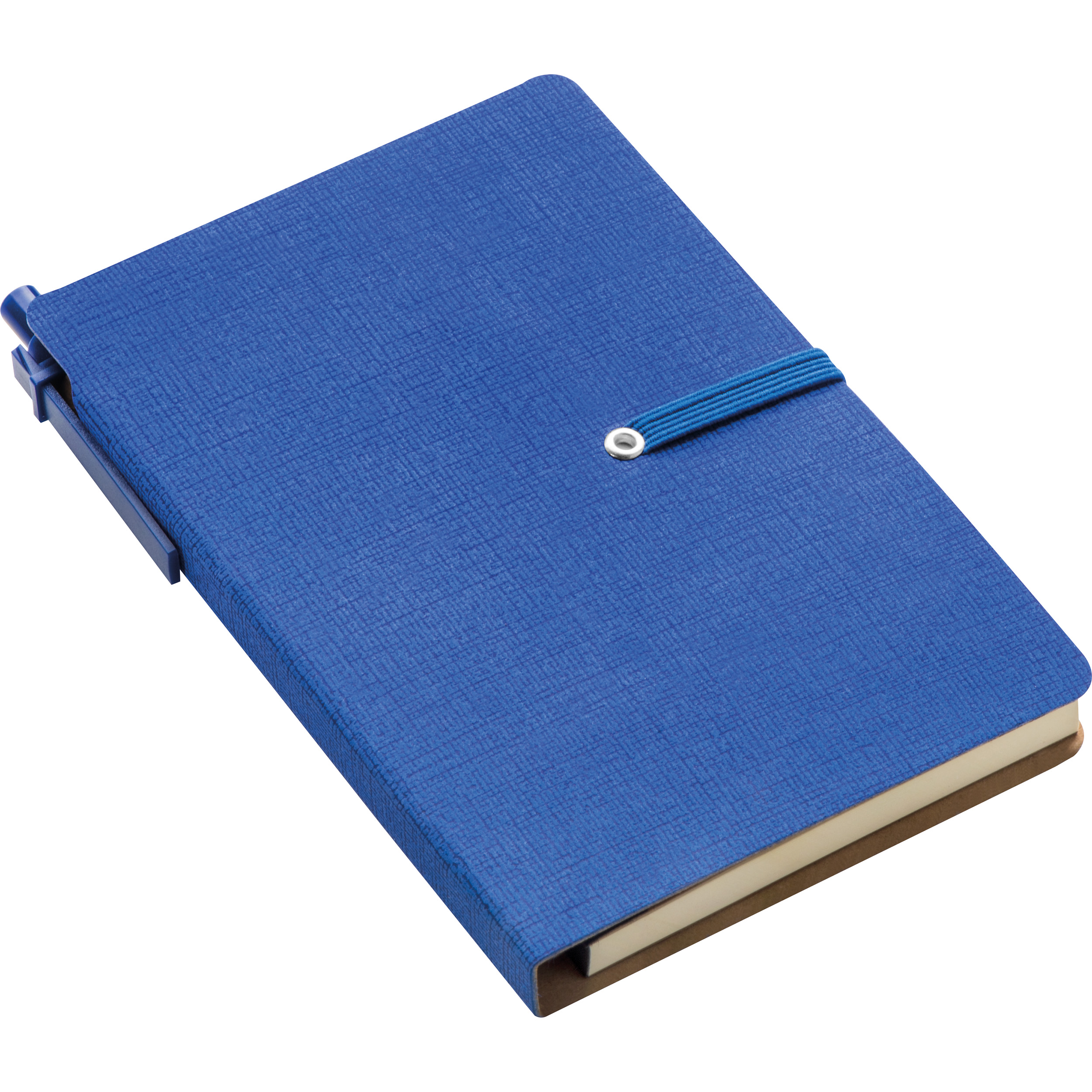 Notebook with sticky markers