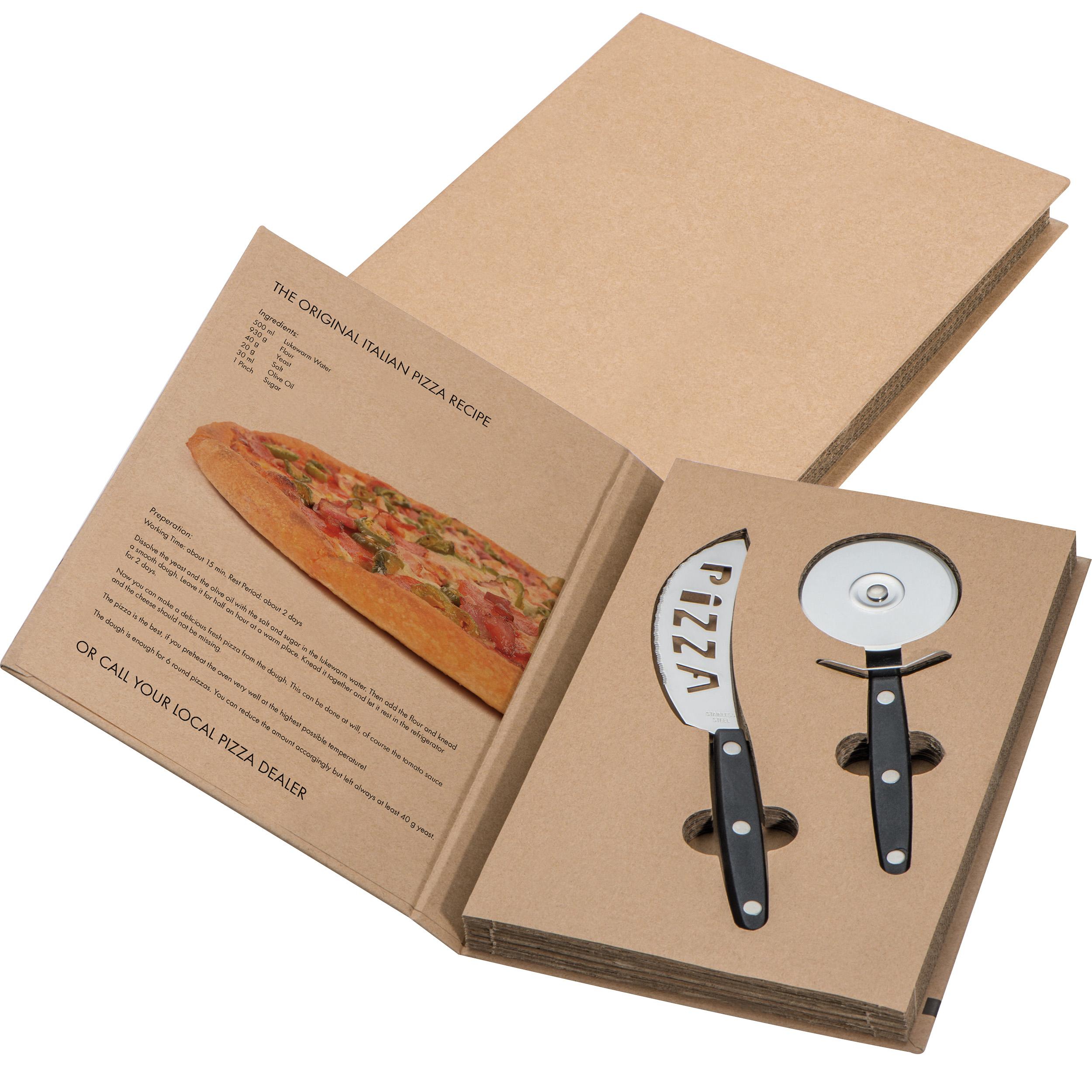 2-teiliges Pizza Set