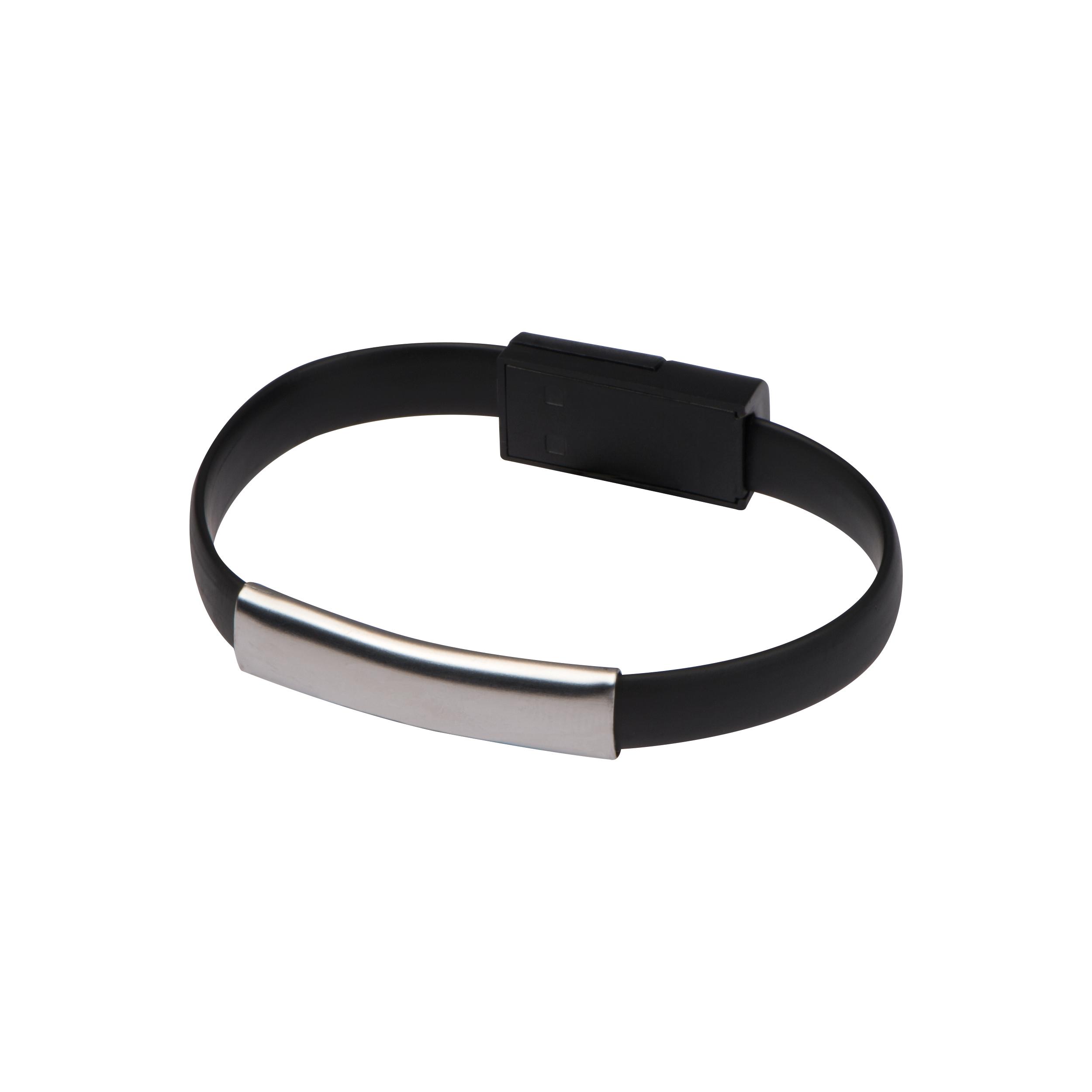 2 in 1 USB bracelet plug