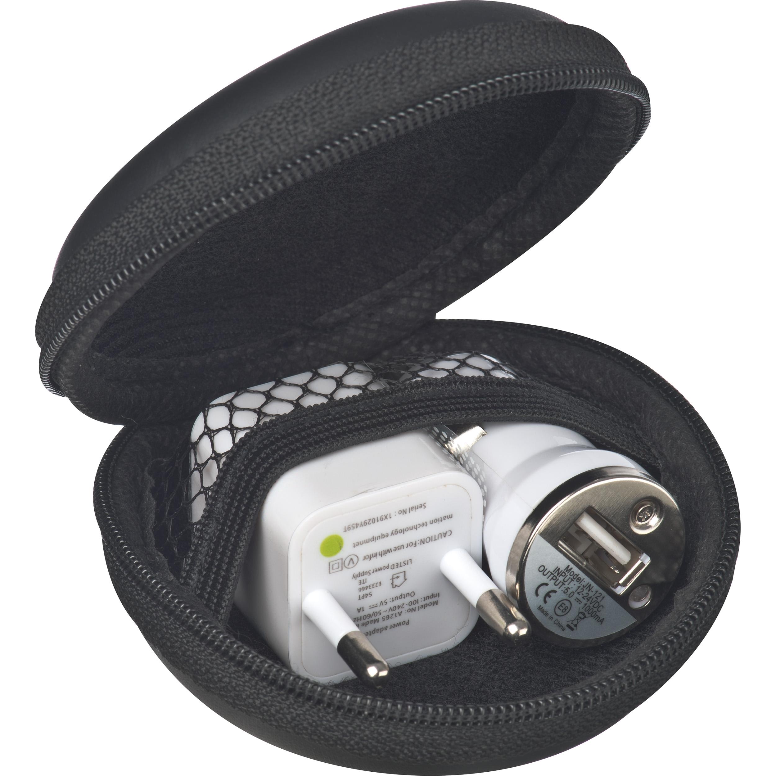 Travel Set mit EU Stecker und USB-Ladegerät