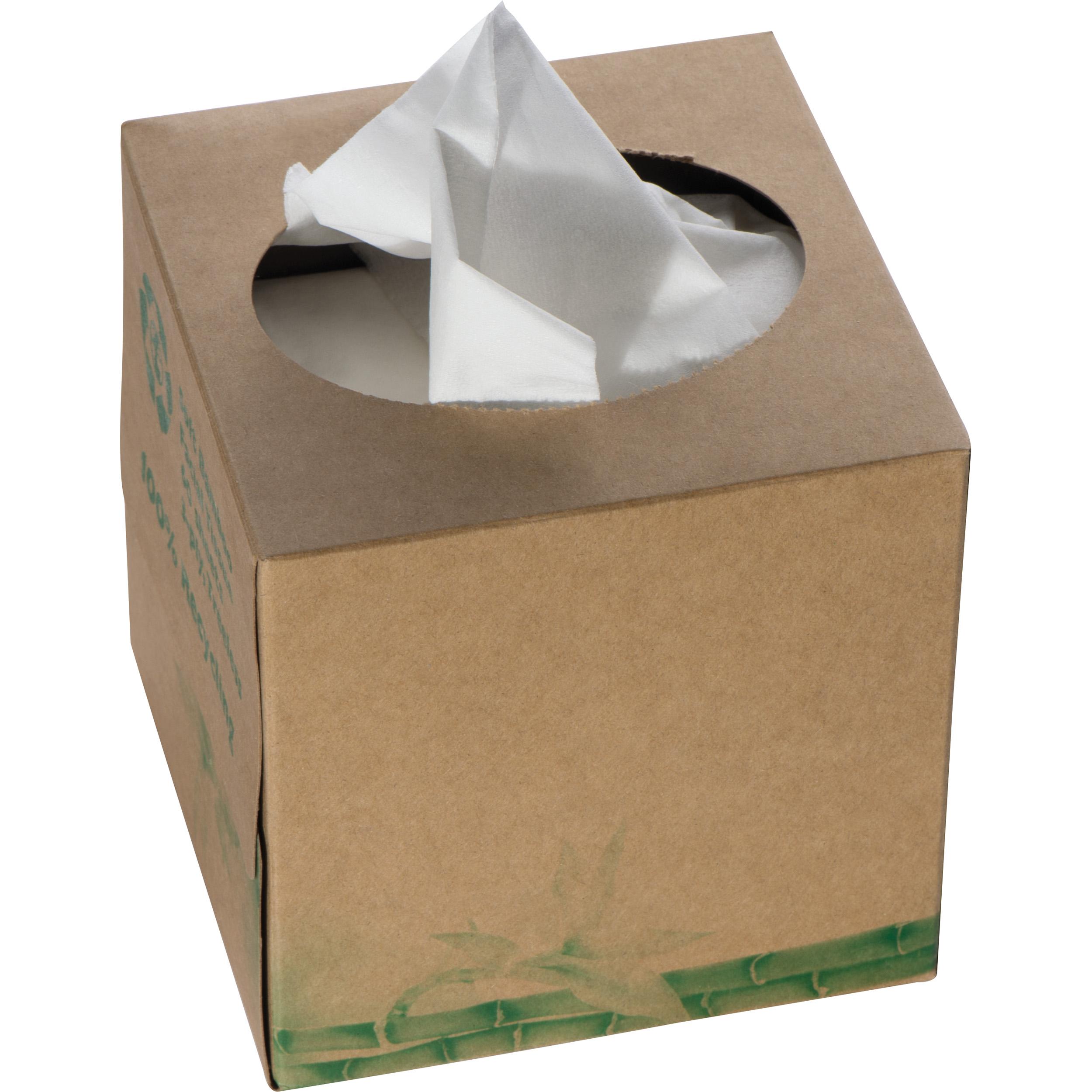 Taschentuchbox aus Bambus, 3-lagig