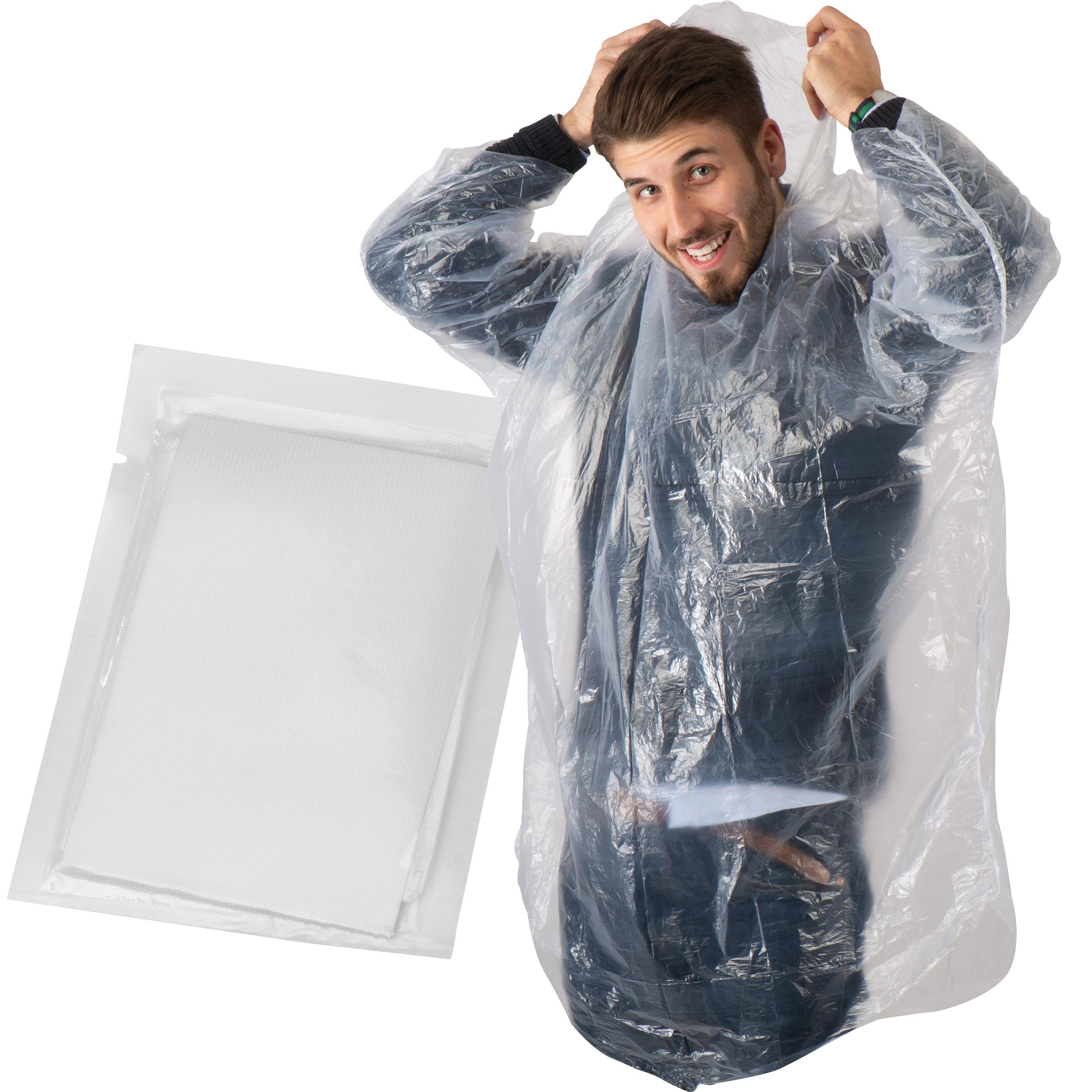 Phthalatefreier, transparenter Not-Poncho