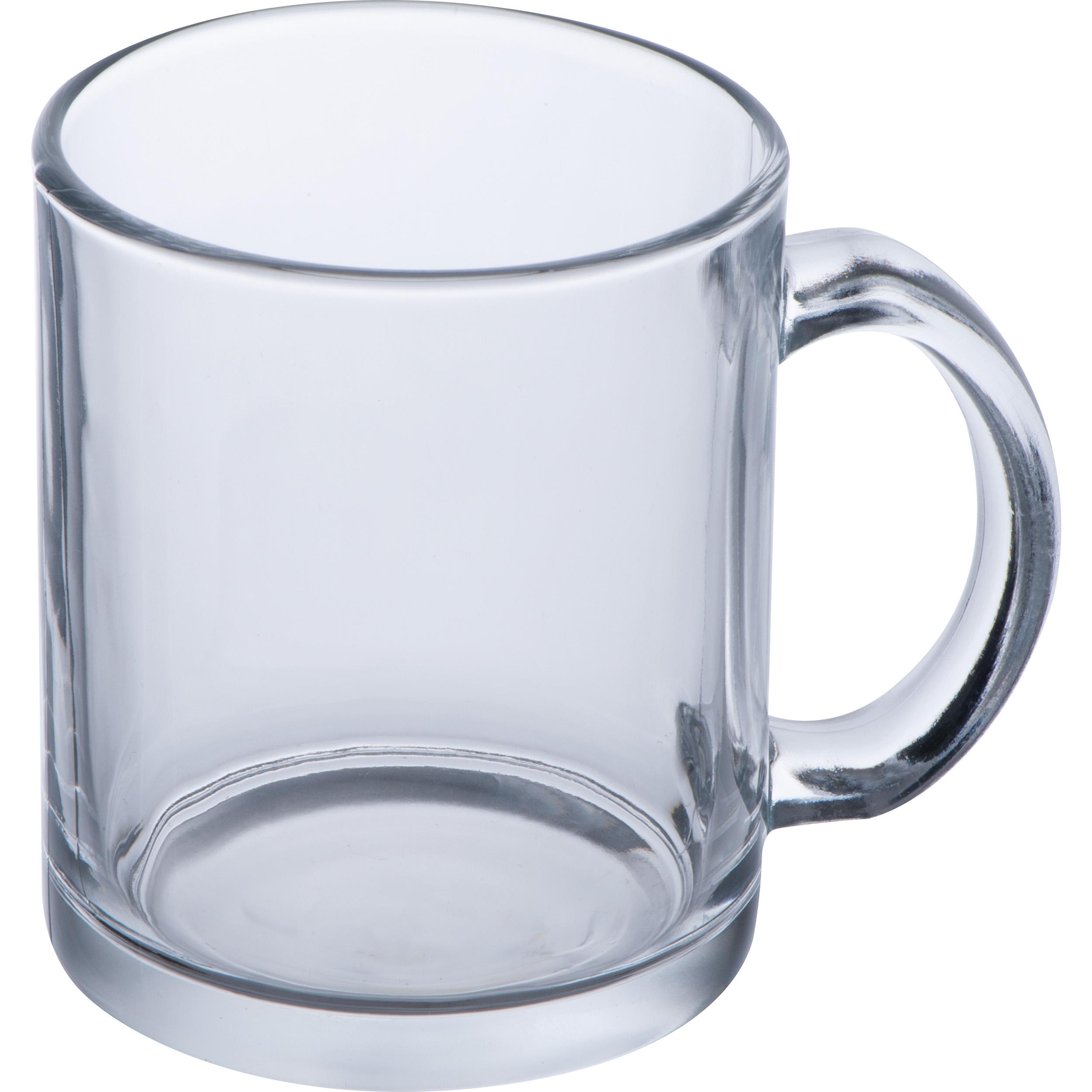 Kaffeetasse aus Glas, 300 ml